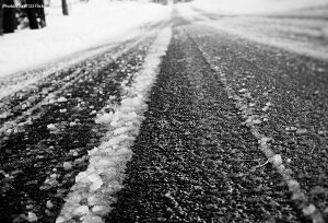 Slippery Roads a Top Cause for Car Accidents