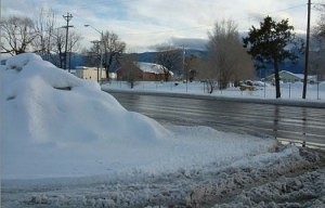 Snowbanks to Blame for Spike in Crashes