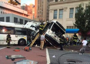 Officials ID Driver in Deadly Newark Bus Crash