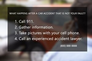 What Happens After A Car Accident That Is Not Your Fault?